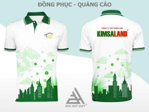 Áo thun Bds Kim Sa Land, áo đồng phục
