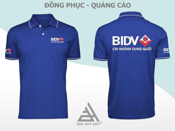 Áo thun ngân hàng BIDV
