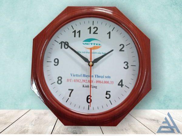 Đồng hồ treo tường bát giác giá rẻ