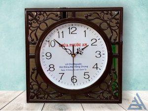 Đồng hồ treo tường vuông giá rẻ , in giá sỉ