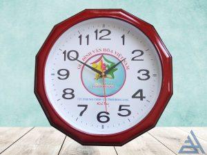 Đồng hồ treo tường 12 cạnh 33cm