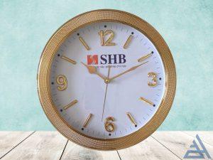 đồng hồ treo tường vành xi 31cm giá rẻ