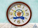 Đồng hồ treo tường số nổi vân gỗ giá tại xưởng