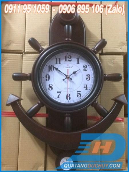 đồng hồ treo tường mỏ neo