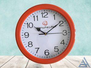 đồng hồ treo tường in bảo hiểm nhân thọ